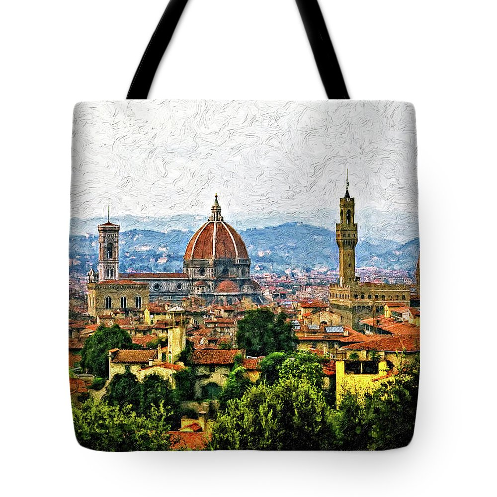 Basilica Of Saint Mary Photographs Tote Bags