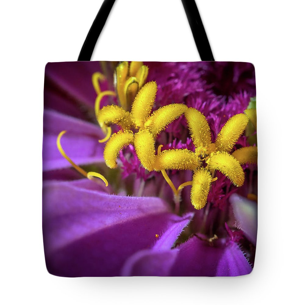 Flower Tote Bag featuring the photograph Flowers Within Flowers by Thomas Miller