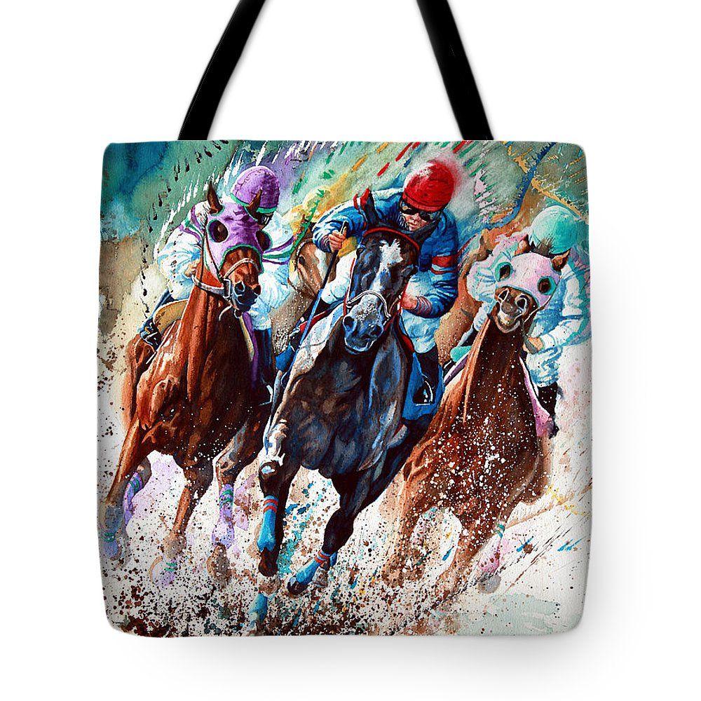Horse Race Tote Bags