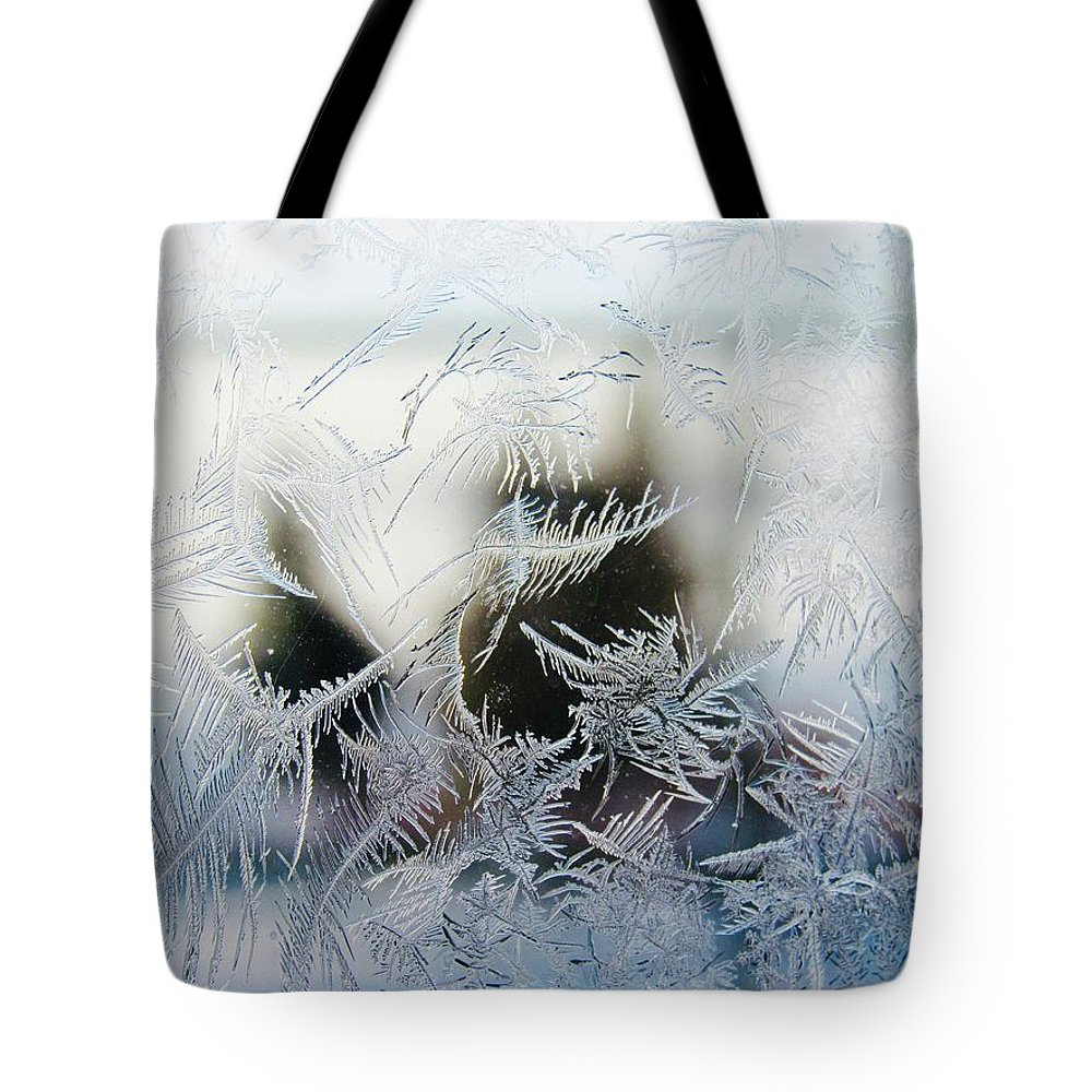 Tote Bag featuring the photograph Frost From Canada by Kate Servais