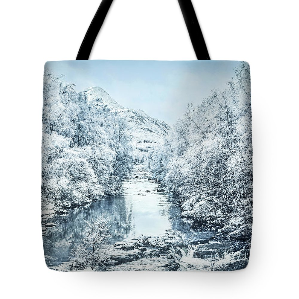 Kremsdorf Tote Bag featuring the photograph Frozen Memories by Evelina Kremsdorf