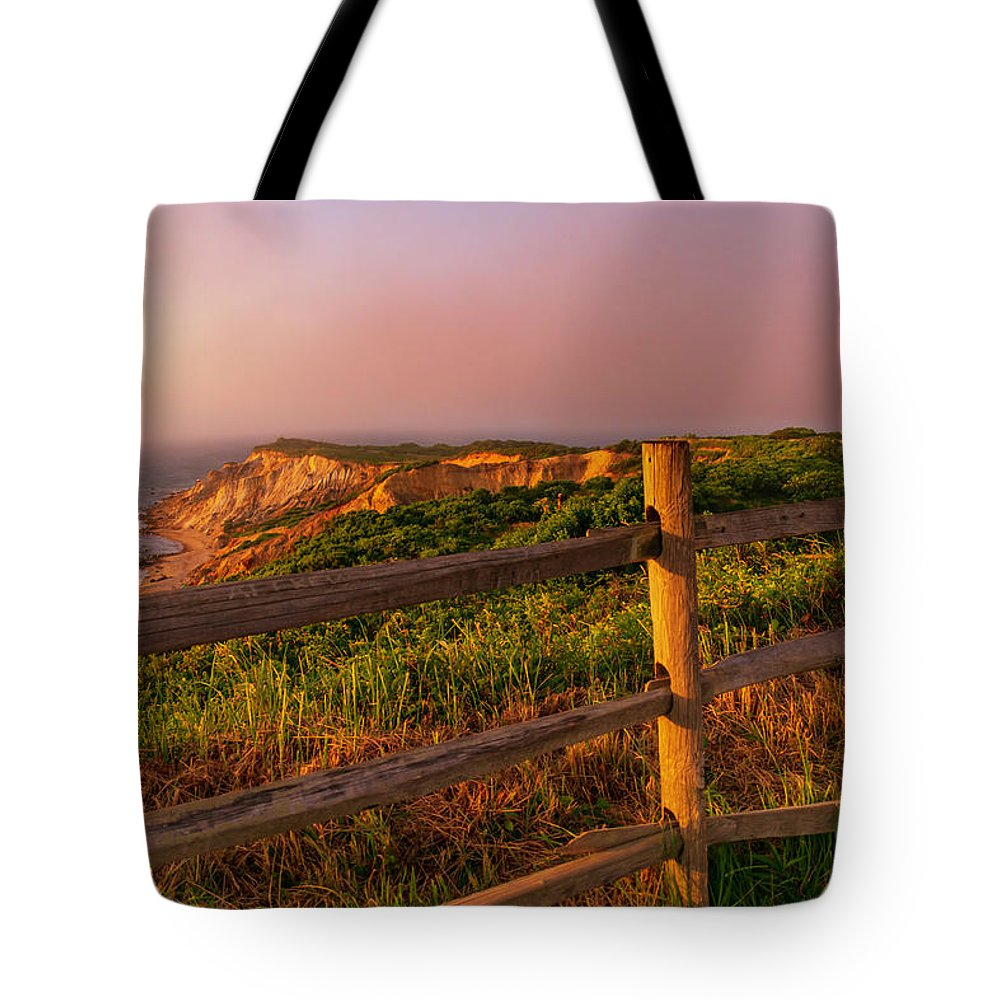 Tote Bag featuring the photograph Gay Head by Sean Connolly