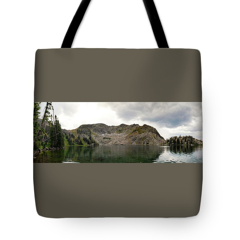 Gilpin Lake Tote Bag featuring the photograph Gilpin Lake by Nicole Lloyd