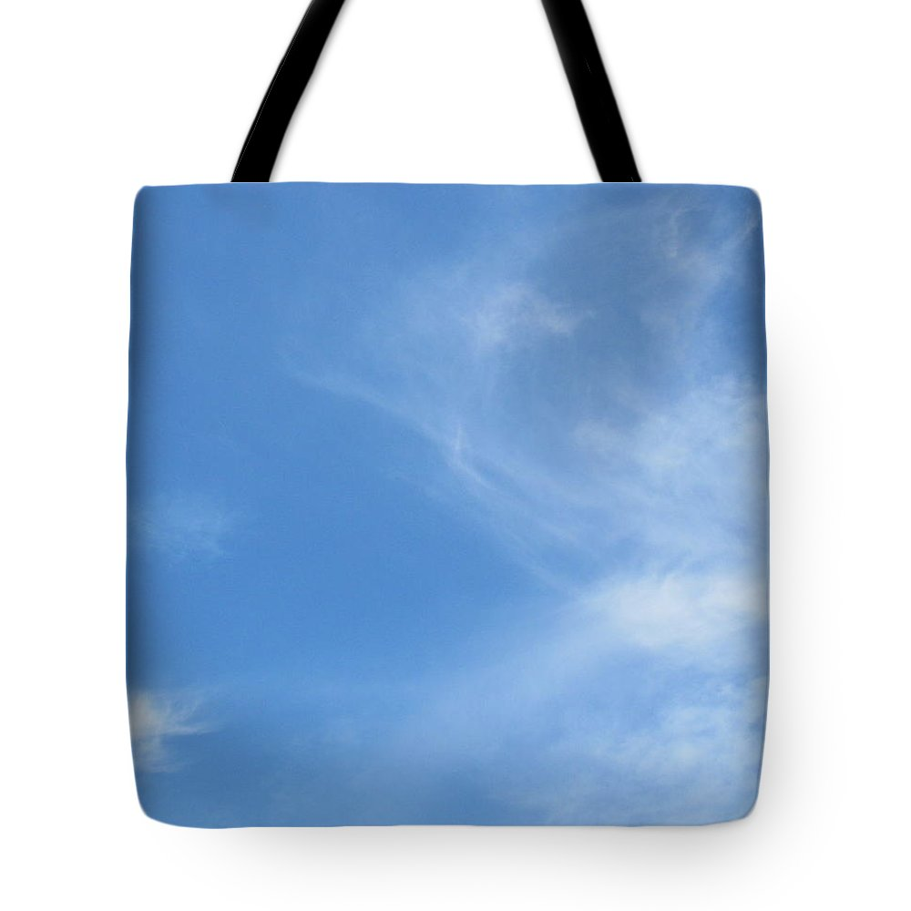 Clouds Tote Bag featuring the pastel God's Canvas- 4 by Erma L George