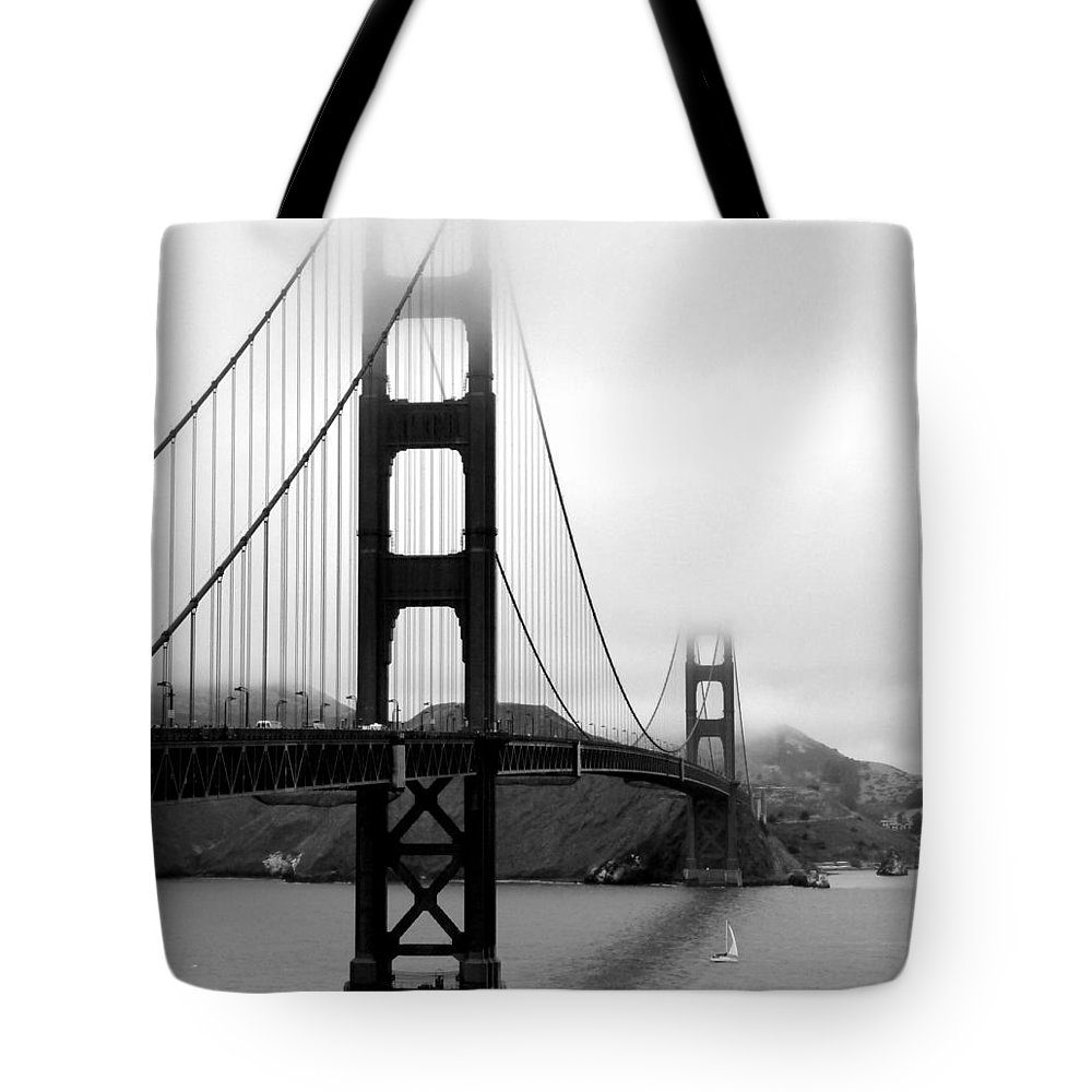 San Francisco Tote Bag featuring the photograph Golden Gate Bridge by Federica Gentile
