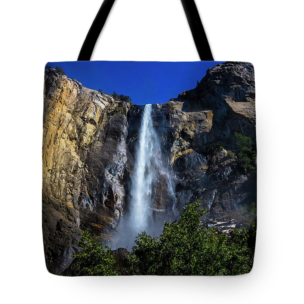 Bridalveil Fall Tote Bag featuring the photograph Gorgeous Bridalveil Fall by Garry Gay