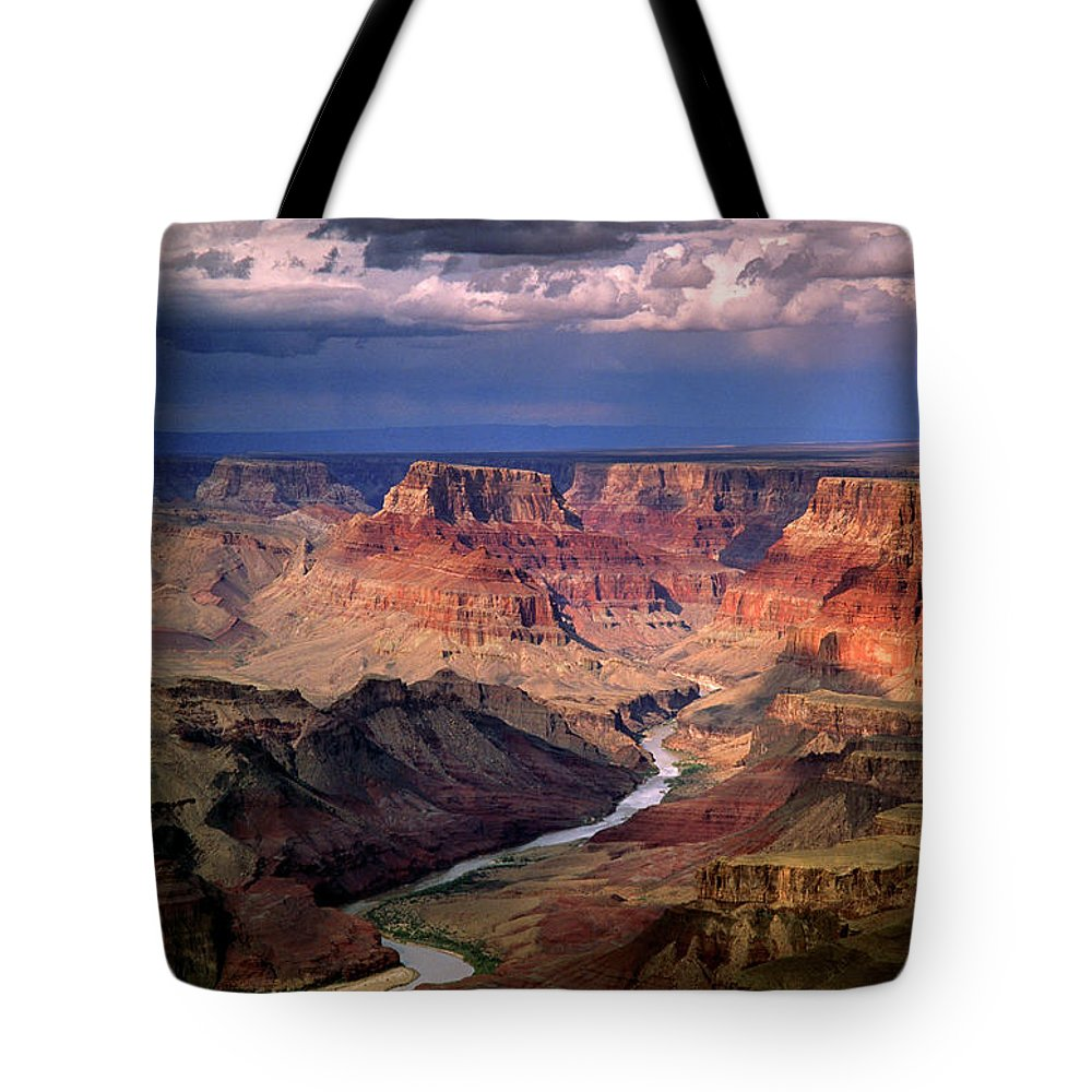 Scenics Tote Bag featuring the photograph Grand Canyon, Arizon, Usa by Michael Busselle