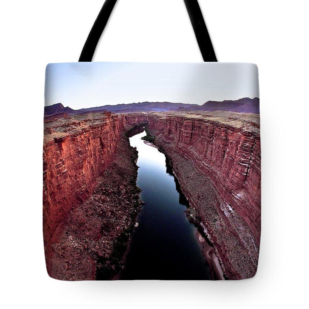 Scenics Tote Bag featuring the photograph Grand Canyon, Arizona, Usa by Design Pics/richard Wear