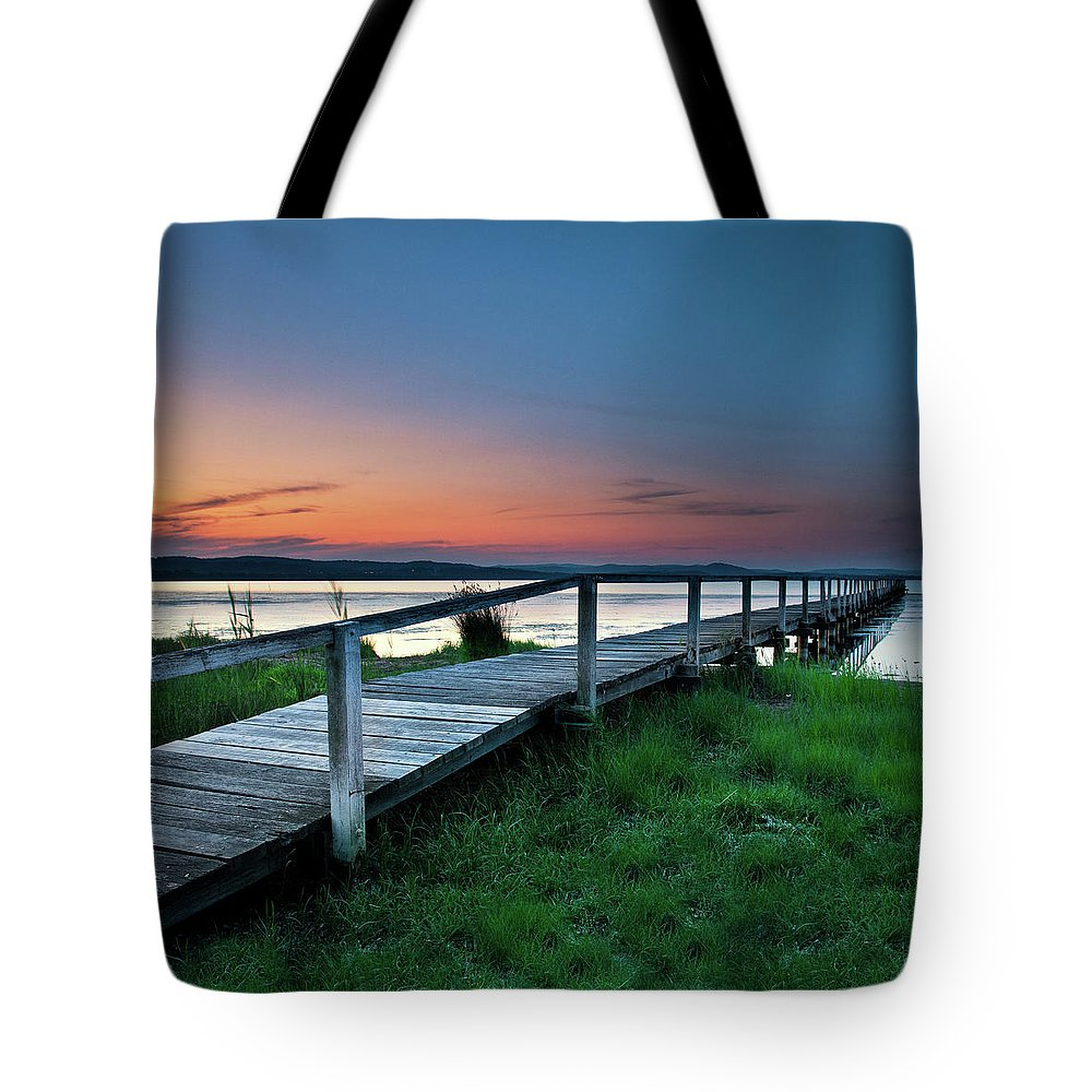 Tranquility Tote Bag featuring the photograph Greener On The Other Side by Photography By Carlo Olegario