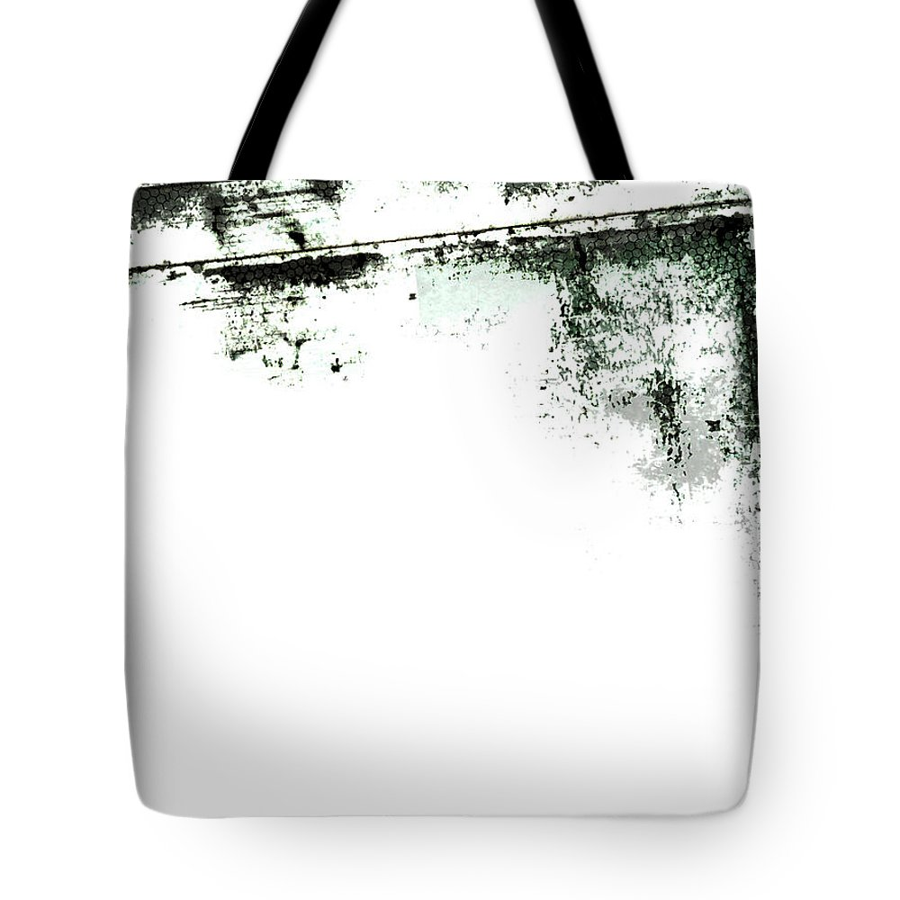 Material Tote Bag featuring the photograph Grunge Border by Akirastock