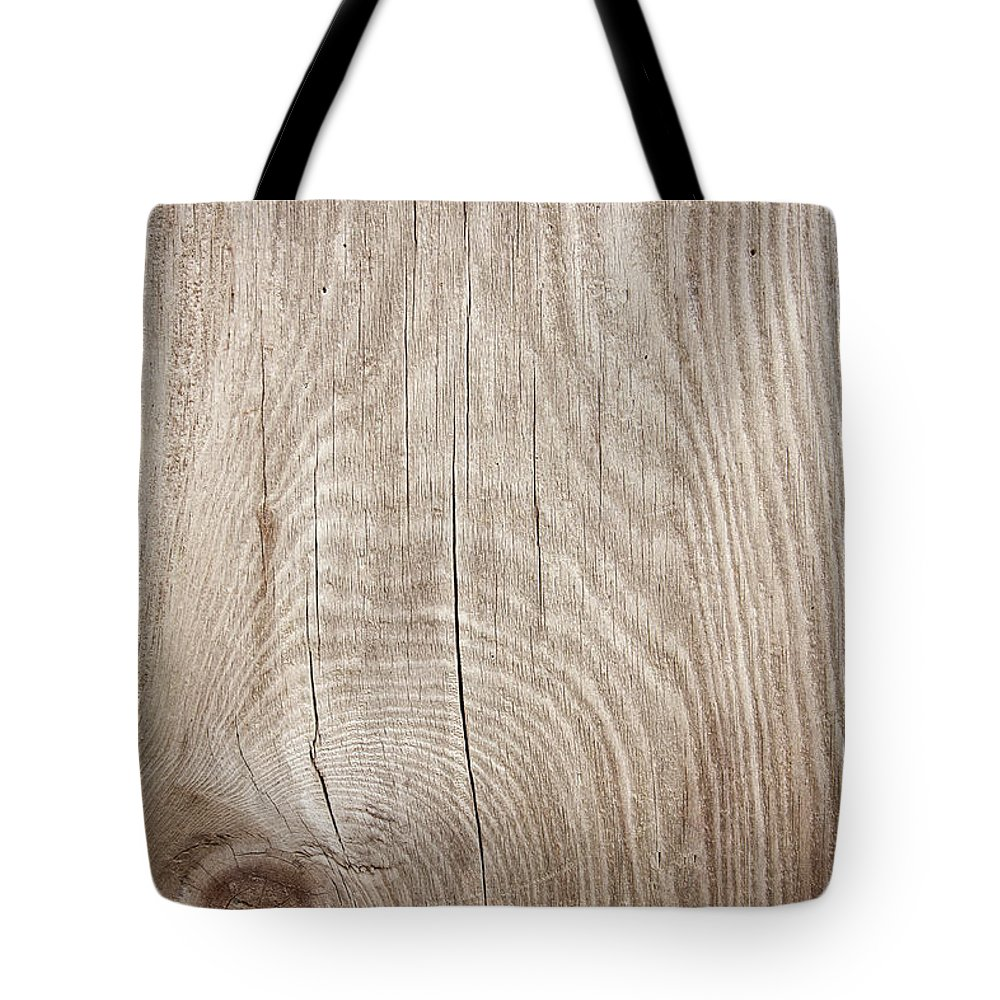 Material Tote Bag featuring the photograph Grunge Wood Textured Background With by Hudiemm