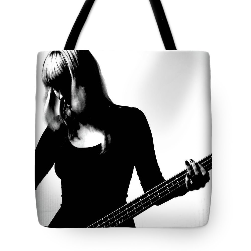 People Tote Bag featuring the photograph Guitar Player by Yulia.m