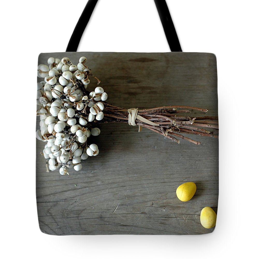 Easter Tote Bag featuring the photograph Happy Easter by Jennifer Causey