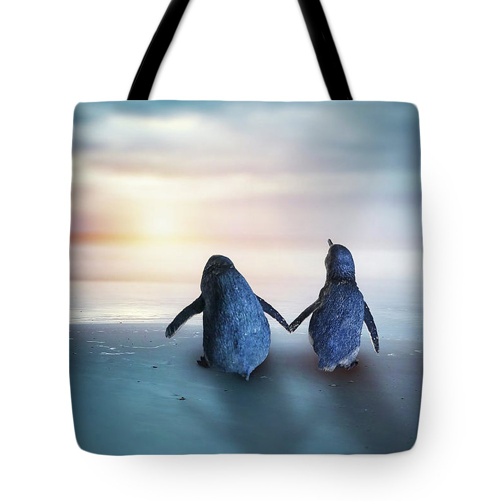 Kremsdorf Tote Bag featuring the photograph Happy Feet by Evelina Kremsdorf