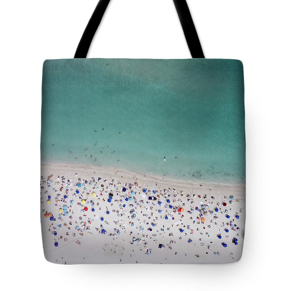 Water's Edge Tote Bag featuring the photograph Haulover, Miami by Copyright Www.floridaphoto.com 305.235.7051
