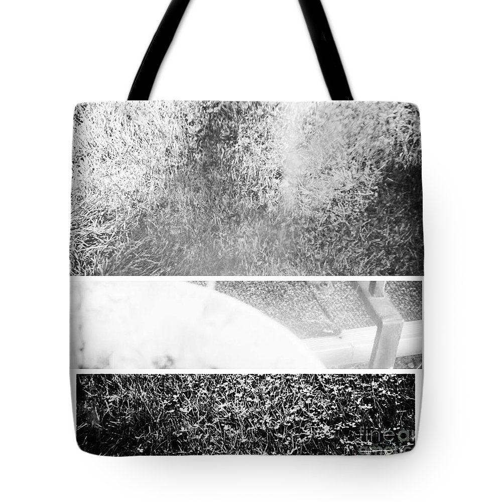 Abstract Tote Bag featuring the photograph Heavy Metal by Alwyn Glasgow