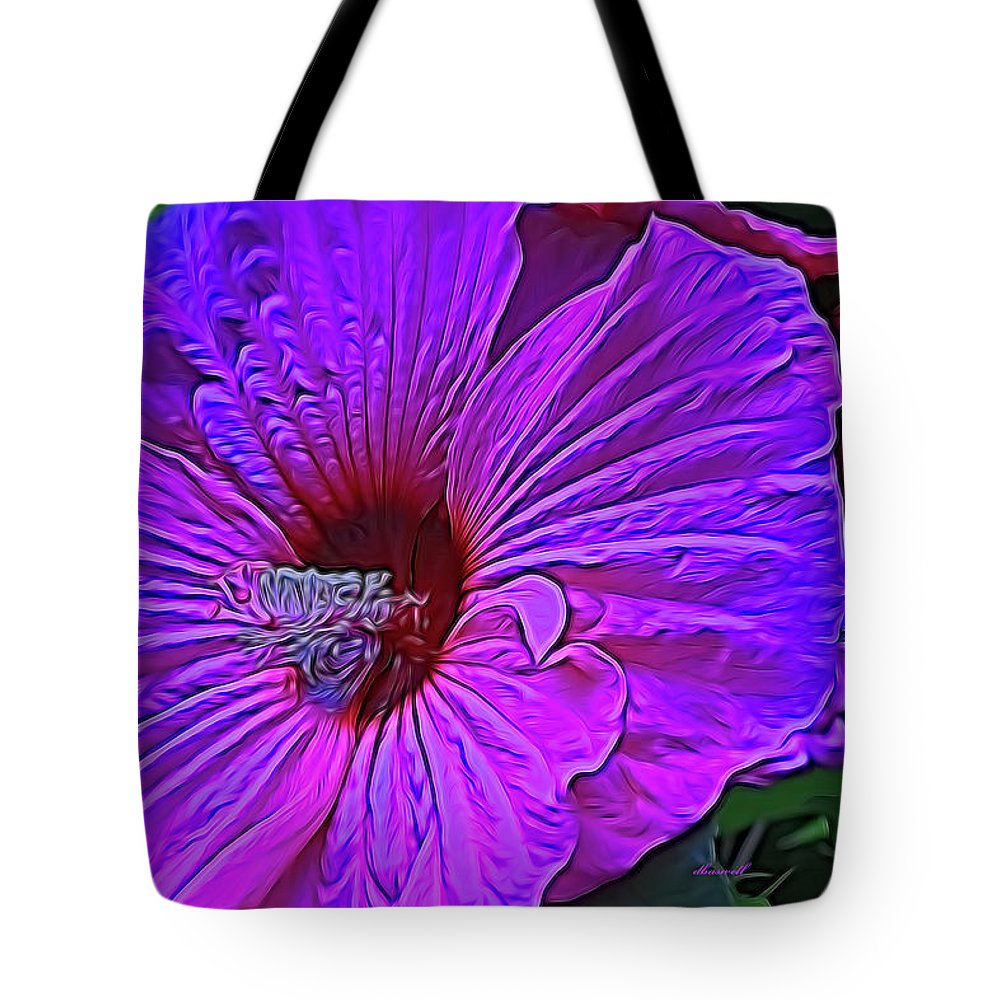 Hibiscus Tote Bag featuring the photograph Hibiscus by Dennis Baswell