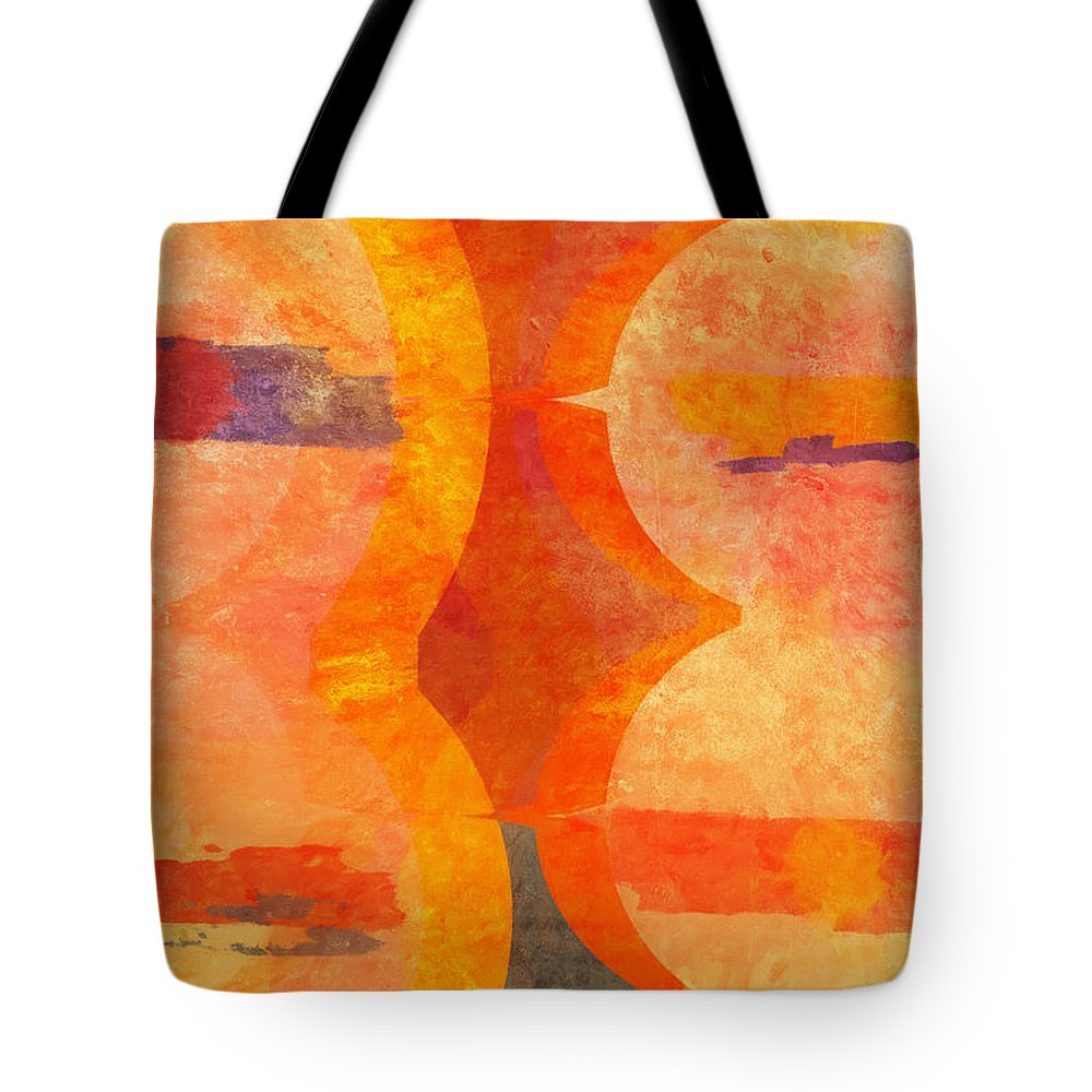 Untitled Tote Bag featuring the painting Hidden by Dan Sproul