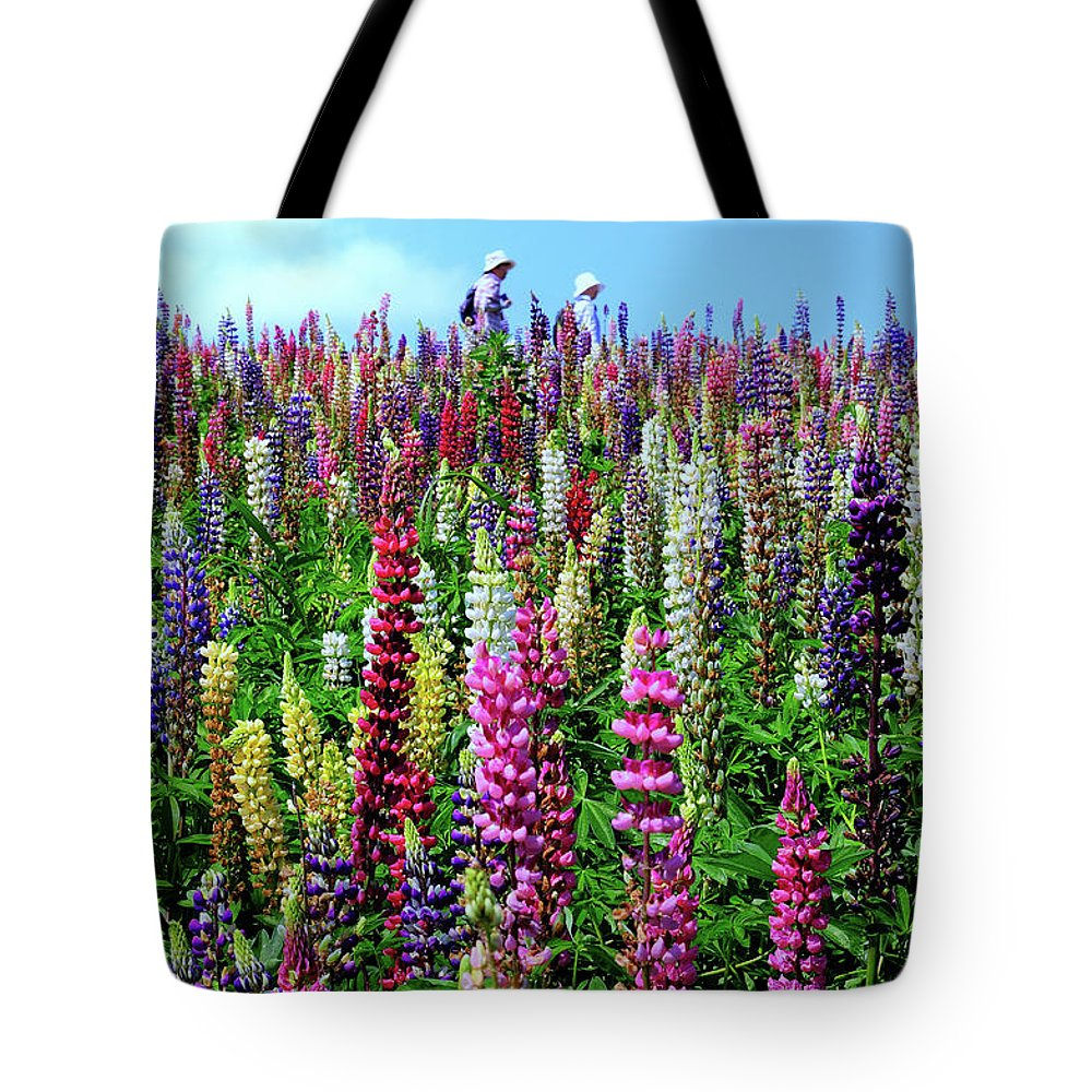 Scenics Tote Bag featuring the photograph Hokkaido by Frank Chen