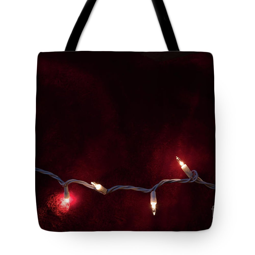 Christmas Tote Bag featuring the photograph Holiday Lights by Michelle Himes