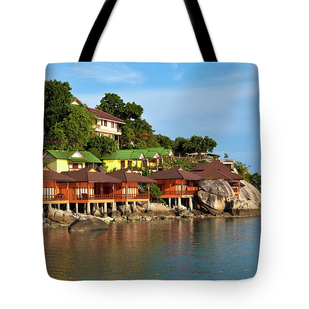 Vacations Tote Bag featuring the photograph Holiday Villas by 35007