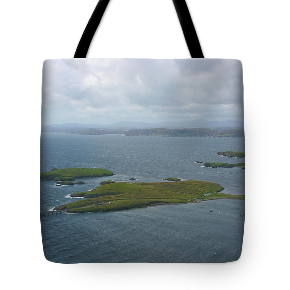 Tranquility Tote Bag featuring the photograph Holm, Stornoway, Isle Of Lewis by Donald Morrison