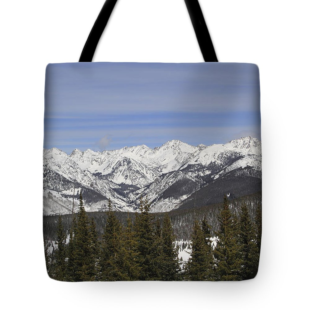 Scenics Tote Bag featuring the photograph Holy Cross Wilderness Area, Colorado by John Kieffer