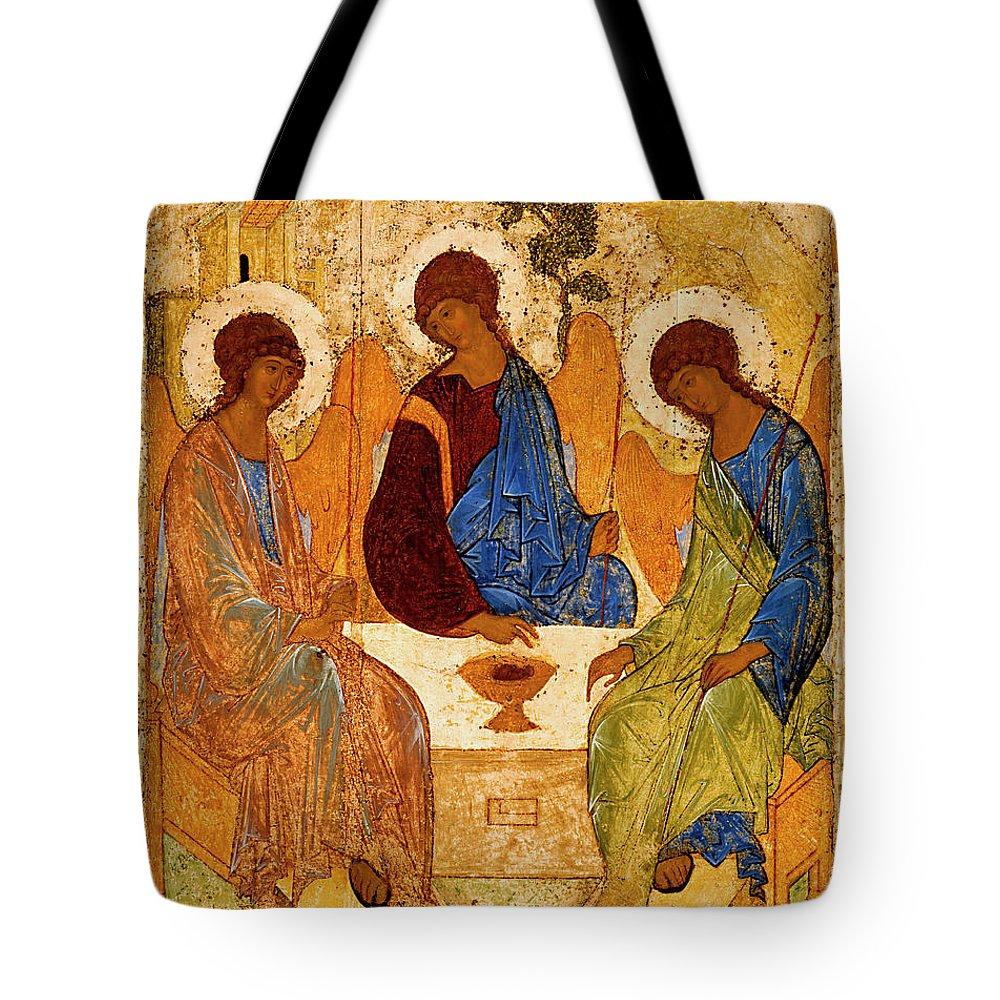 Book Of Genesis Tote Bags