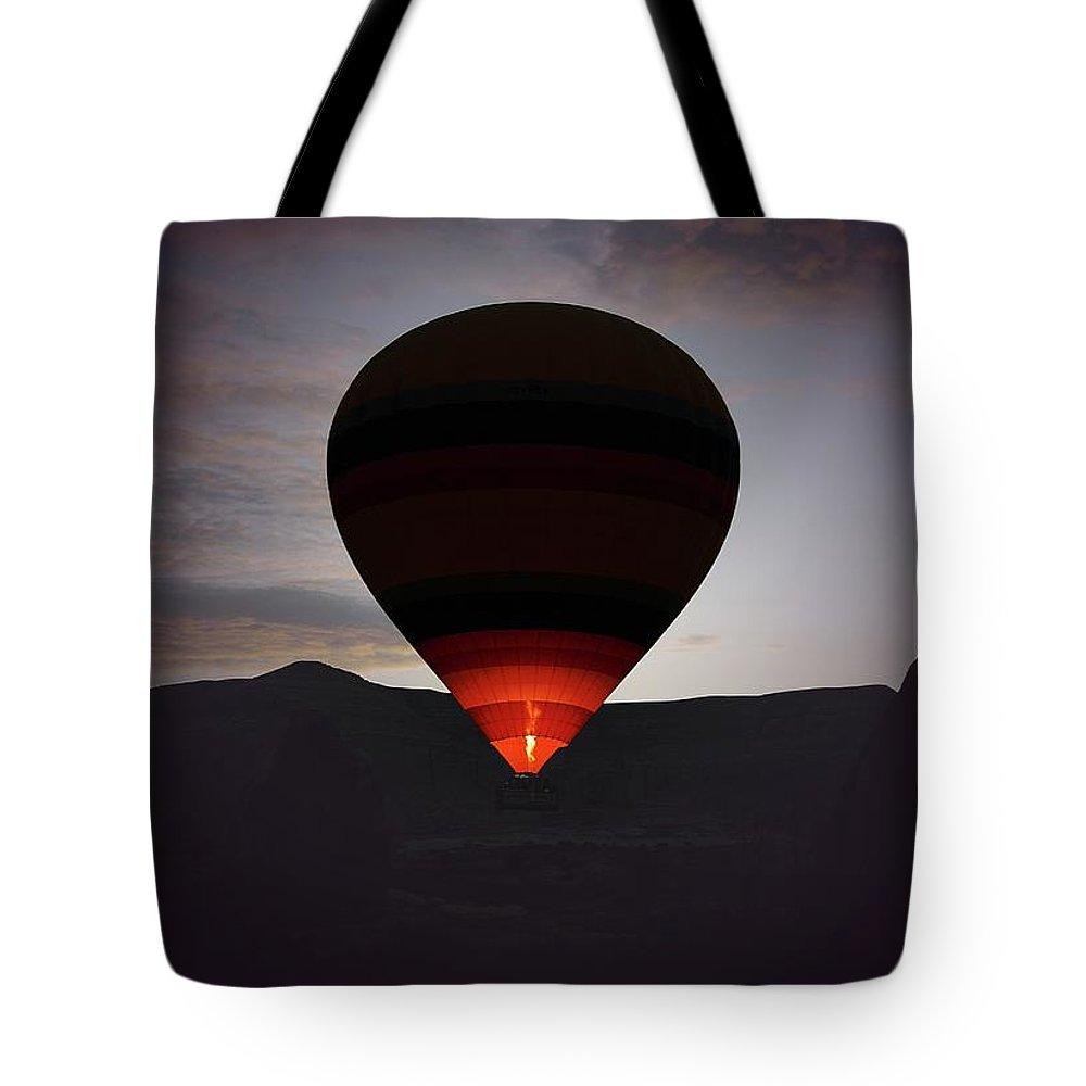 Hot Air Balloon Tote Bag featuring the photograph Hot Air Ballon by M.cantarero