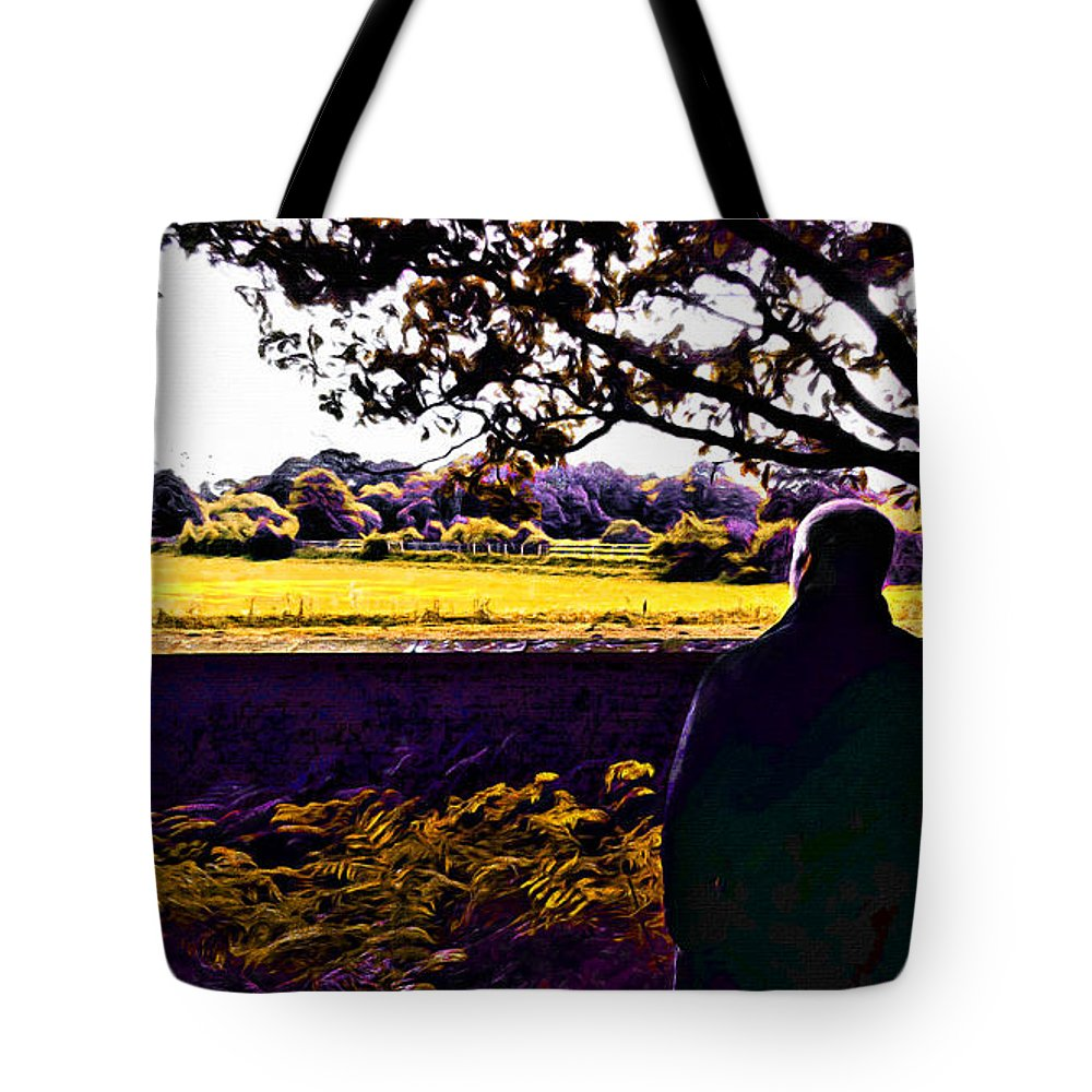 Mystery Tote Bag featuring the photograph I Can Feel It Coming In The Air by Glenn McCarthy Art and Photography