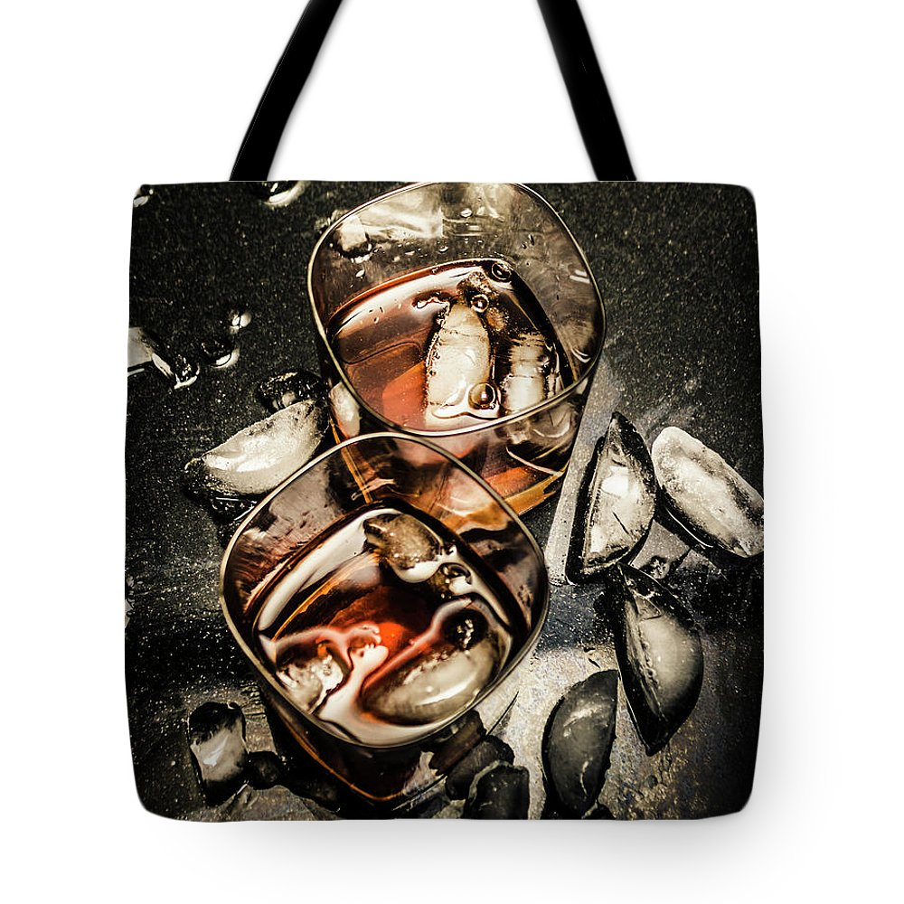 Whisky Photographs Tote Bags