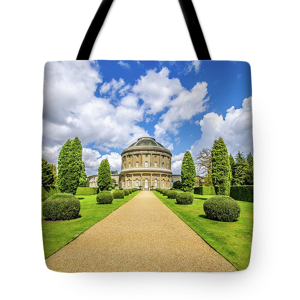 Young Girl Tote Bag featuring the photograph Ickworth House, Image 18 by Jonny Essex