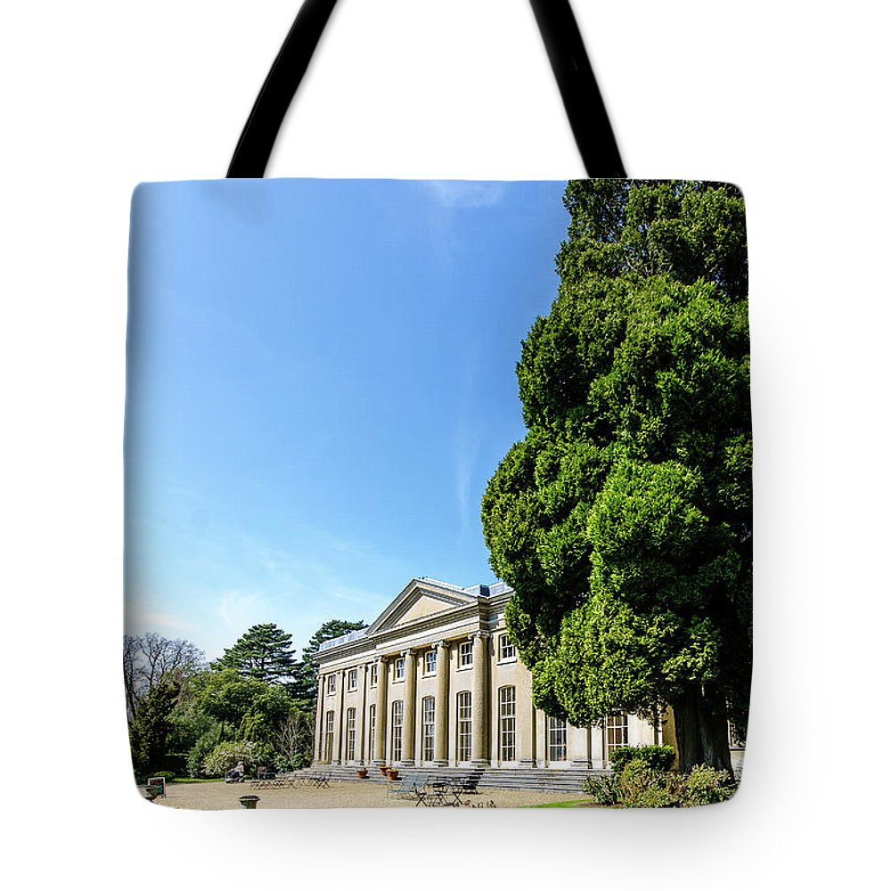Young Girl Tote Bag featuring the photograph Ickworth House, Image 20 by Jonny Essex