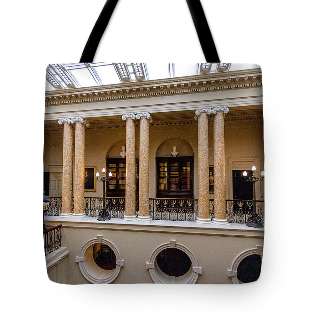Young Girl Tote Bag featuring the photograph Ickworth House, Image 22 by Jonny Essex