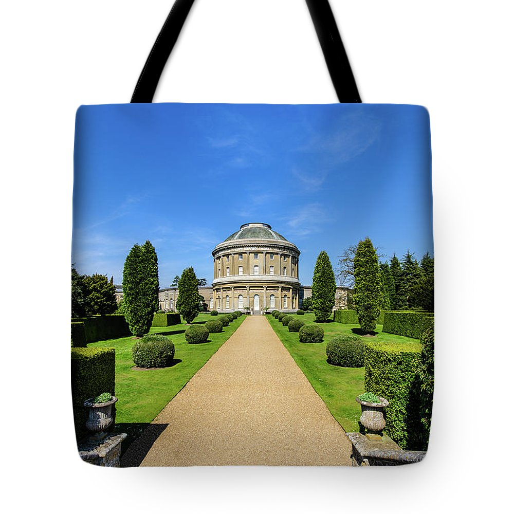 Young Girl Tote Bag featuring the photograph Ickworth House, Image 25 by Jonny Essex