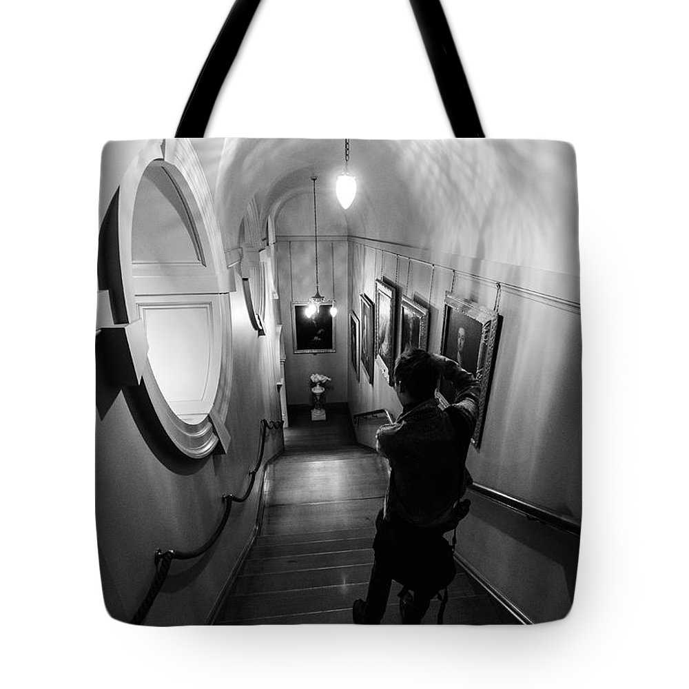 Young Girl Tote Bag featuring the photograph Ickworth House, Image 37 by Jonny Essex