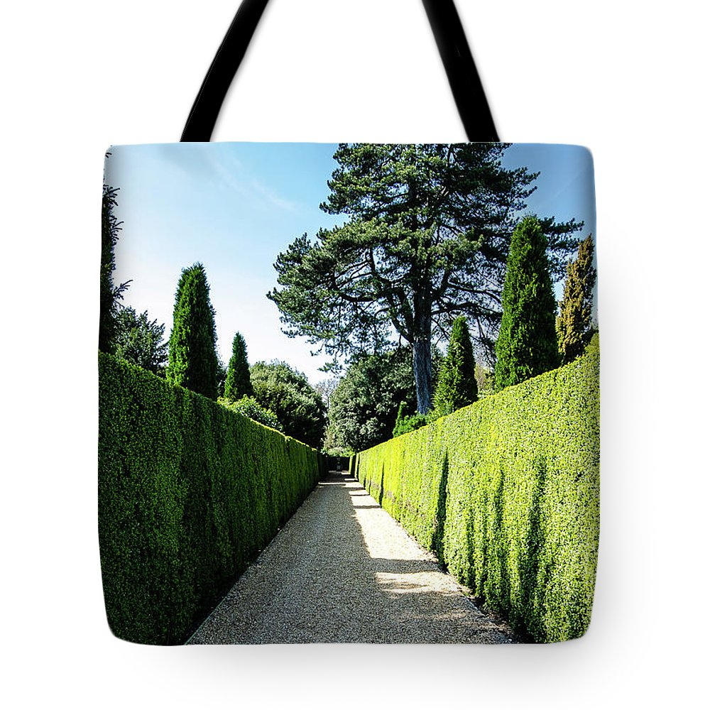 Young Girl Tote Bag featuring the photograph Ickworth House, Image 7 by Jonny Essex