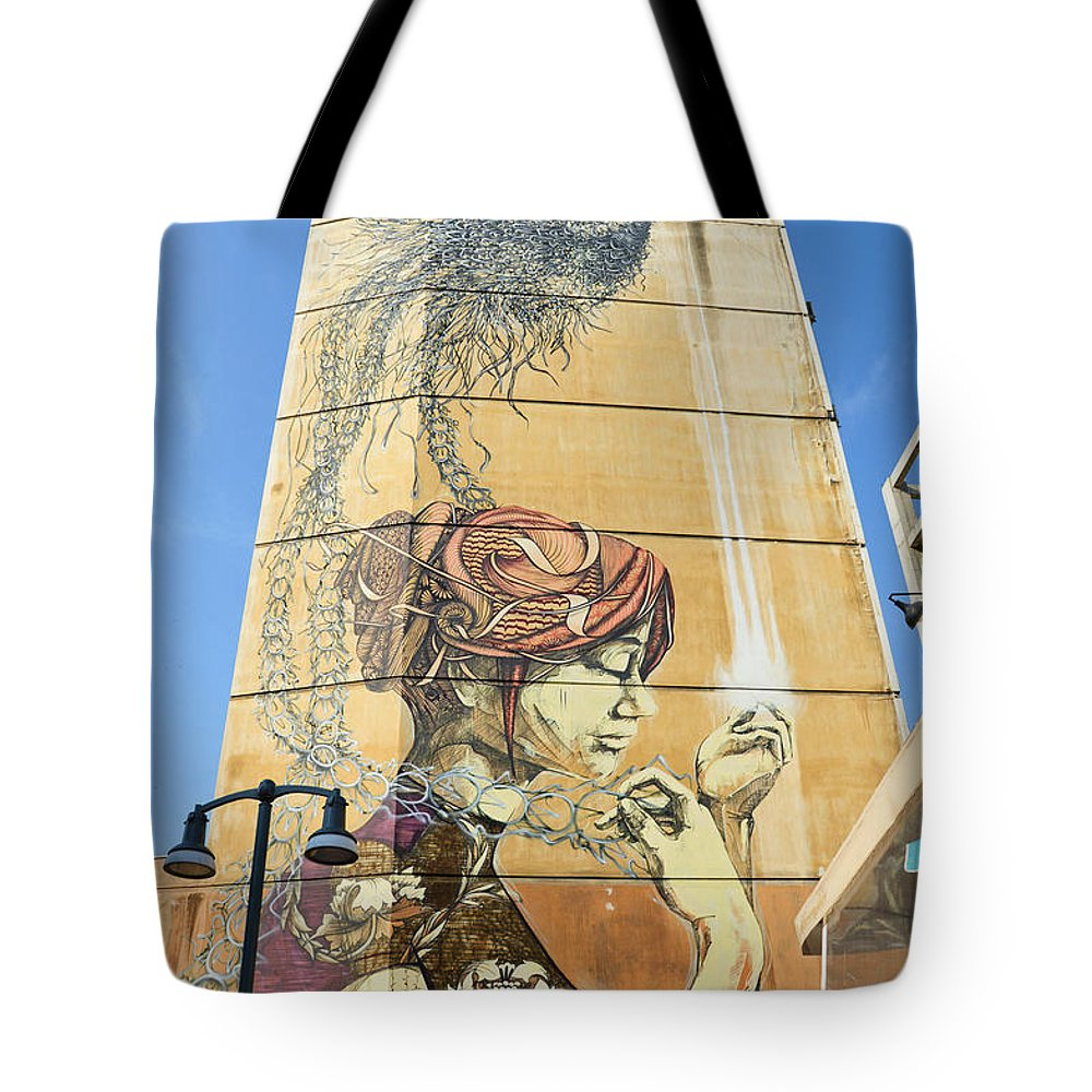 Graffiti Tote Bag featuring the photograph In The Realm Of Dreams by Yavor Mihaylov