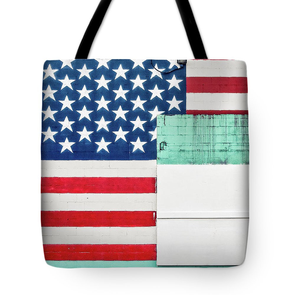 Americana Tote Bag featuring the photograph Industrial Glory by Todd Klassy