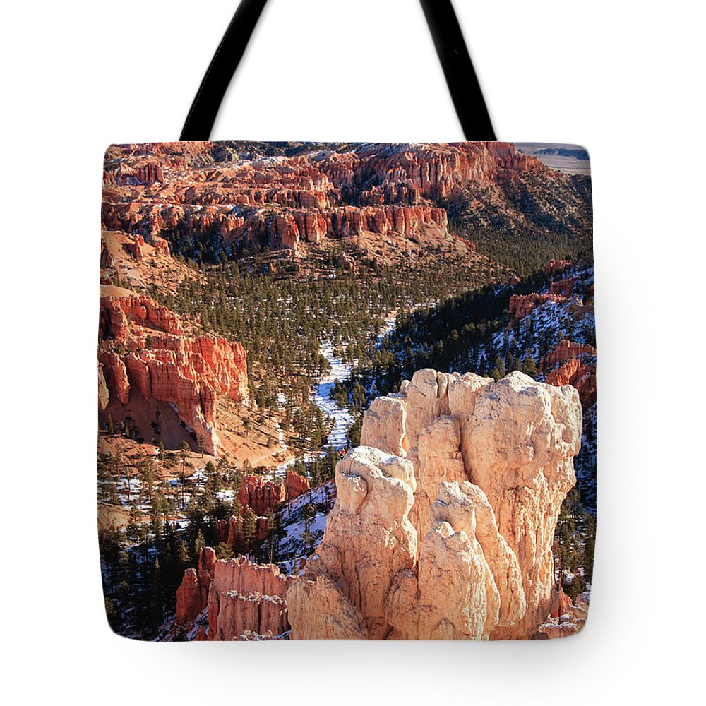 Tranquility Tote Bag featuring the photograph Inspirational by Daniel Cummins