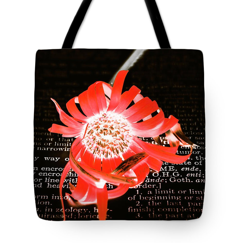 Flower Tote Bag featuring the photograph Inversion To The Mean by Jorgo Photography - Wall Art Gallery