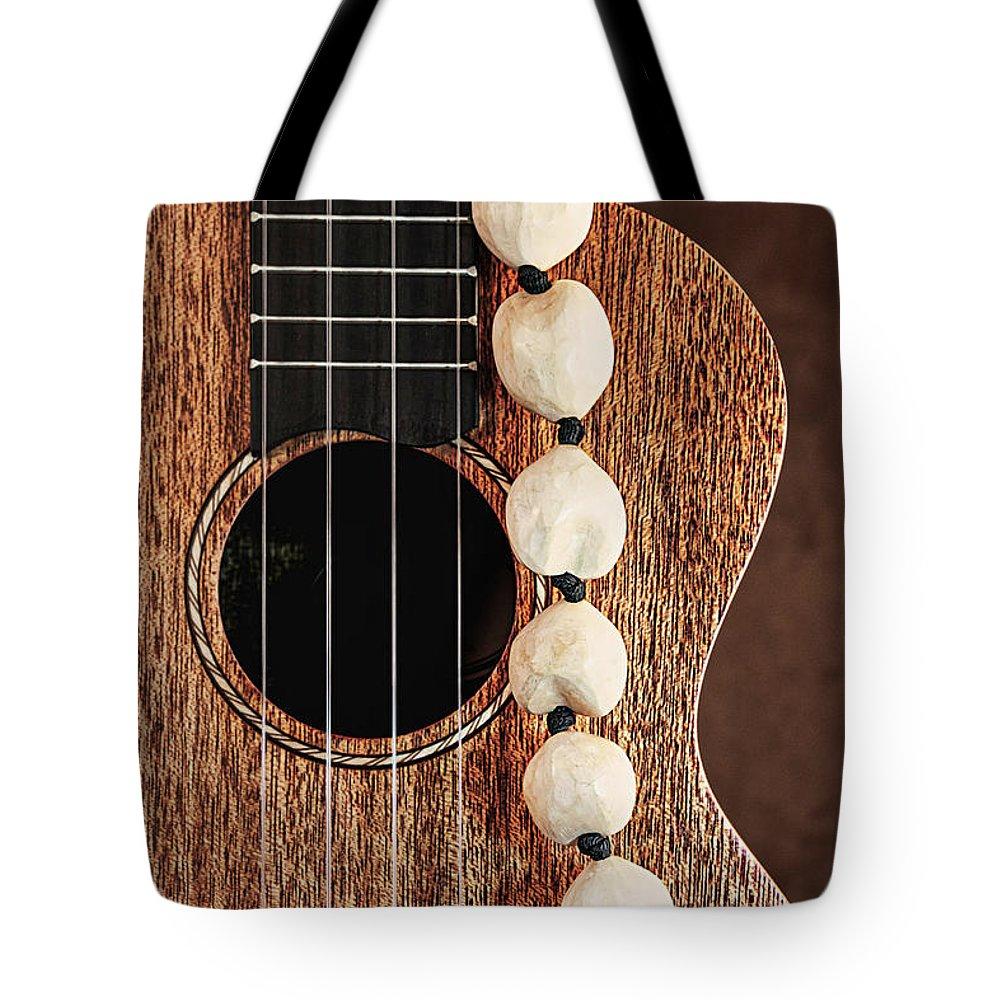 Kukui Tote Bag featuring the photograph Island Music by Tom Mc Nemar