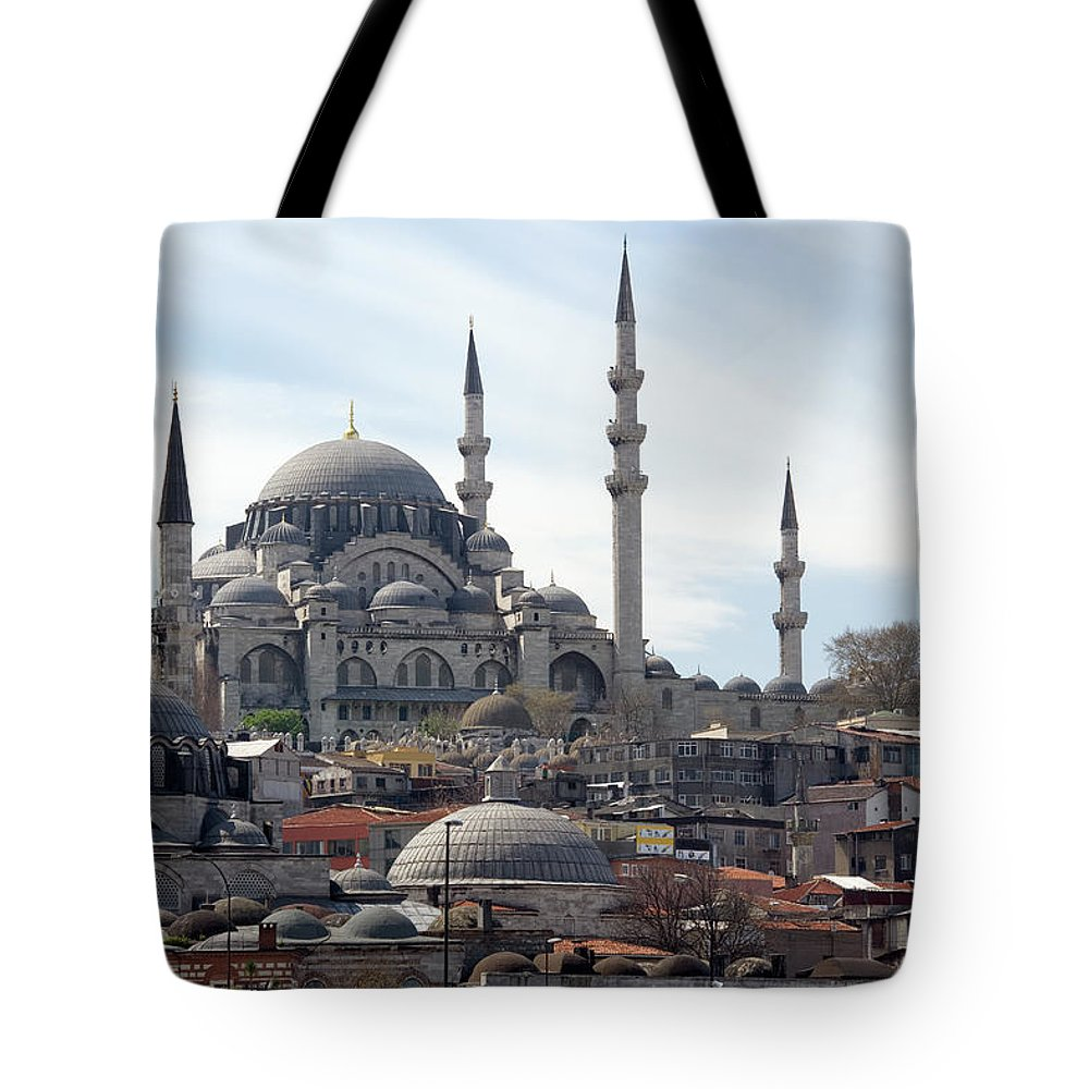 Istanbul Tote Bag featuring the photograph Istanbul In Turkey by Steve Allen