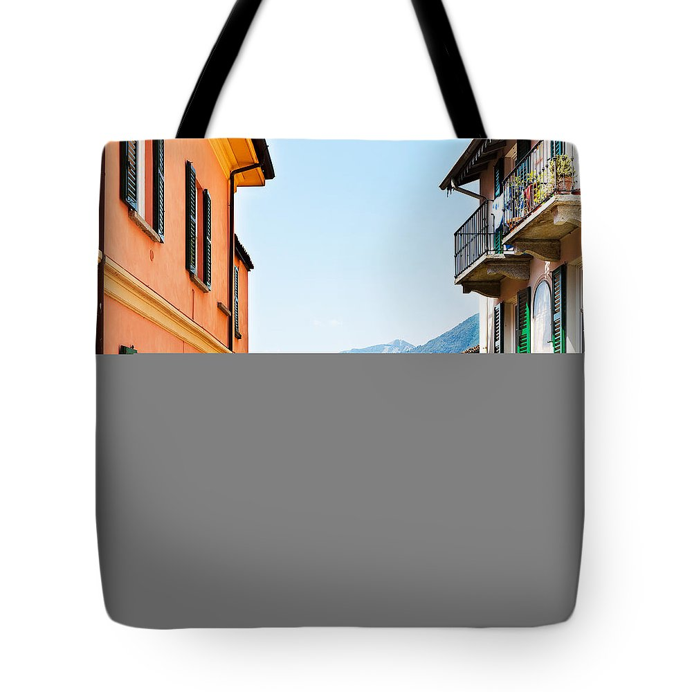 Italian Culture Tote Bag featuring the photograph Italian Village by Tomml