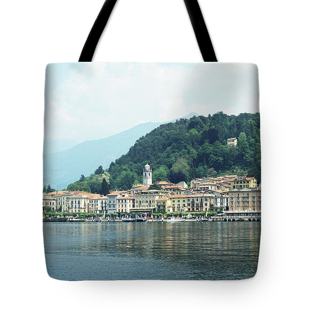Outdoors Tote Bag featuring the photograph Italy, Lombardy, Bellagio On Lake Como by Andy Sotiriou