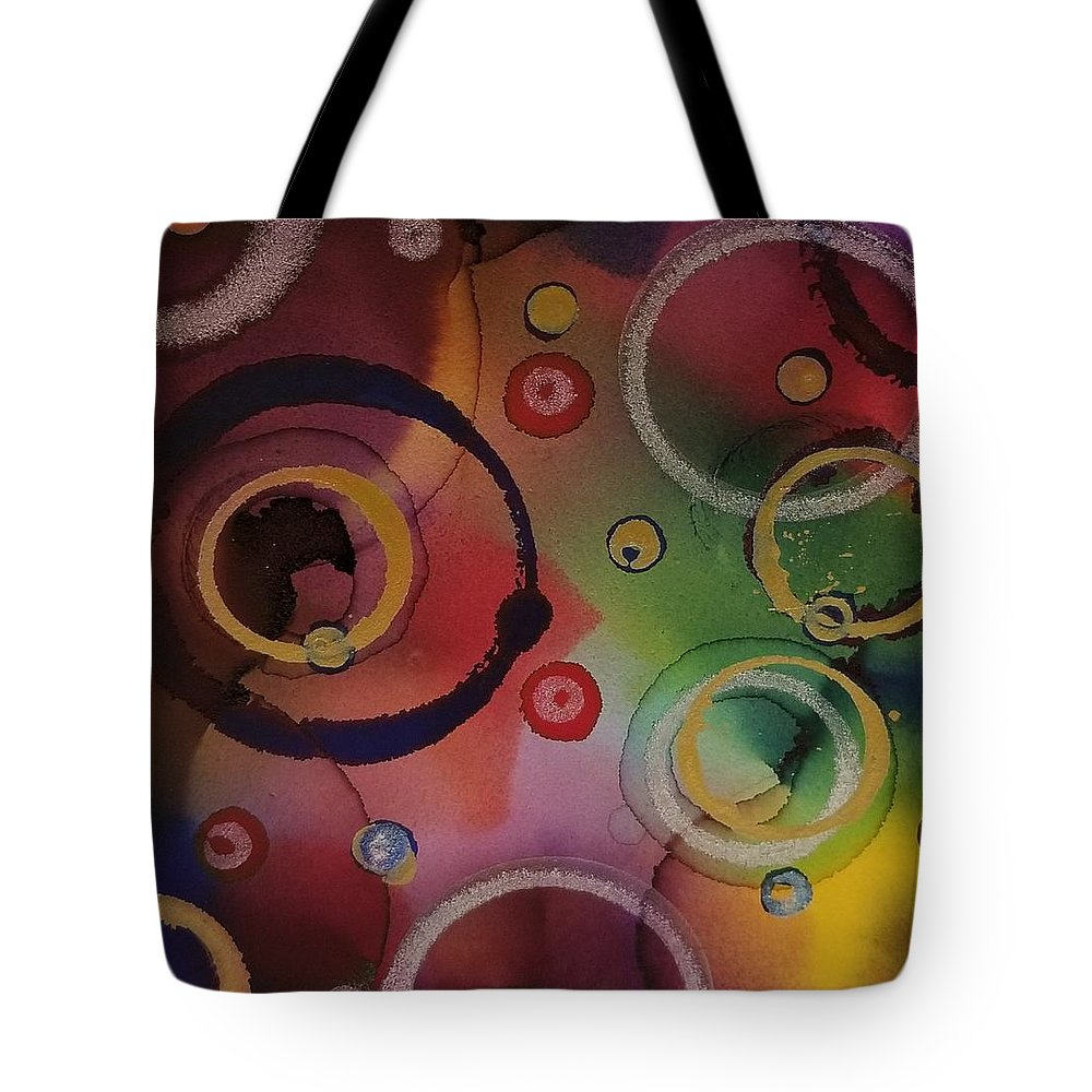 Art Tote Bag featuring the painting Its so 1970 by Paulina Roybal