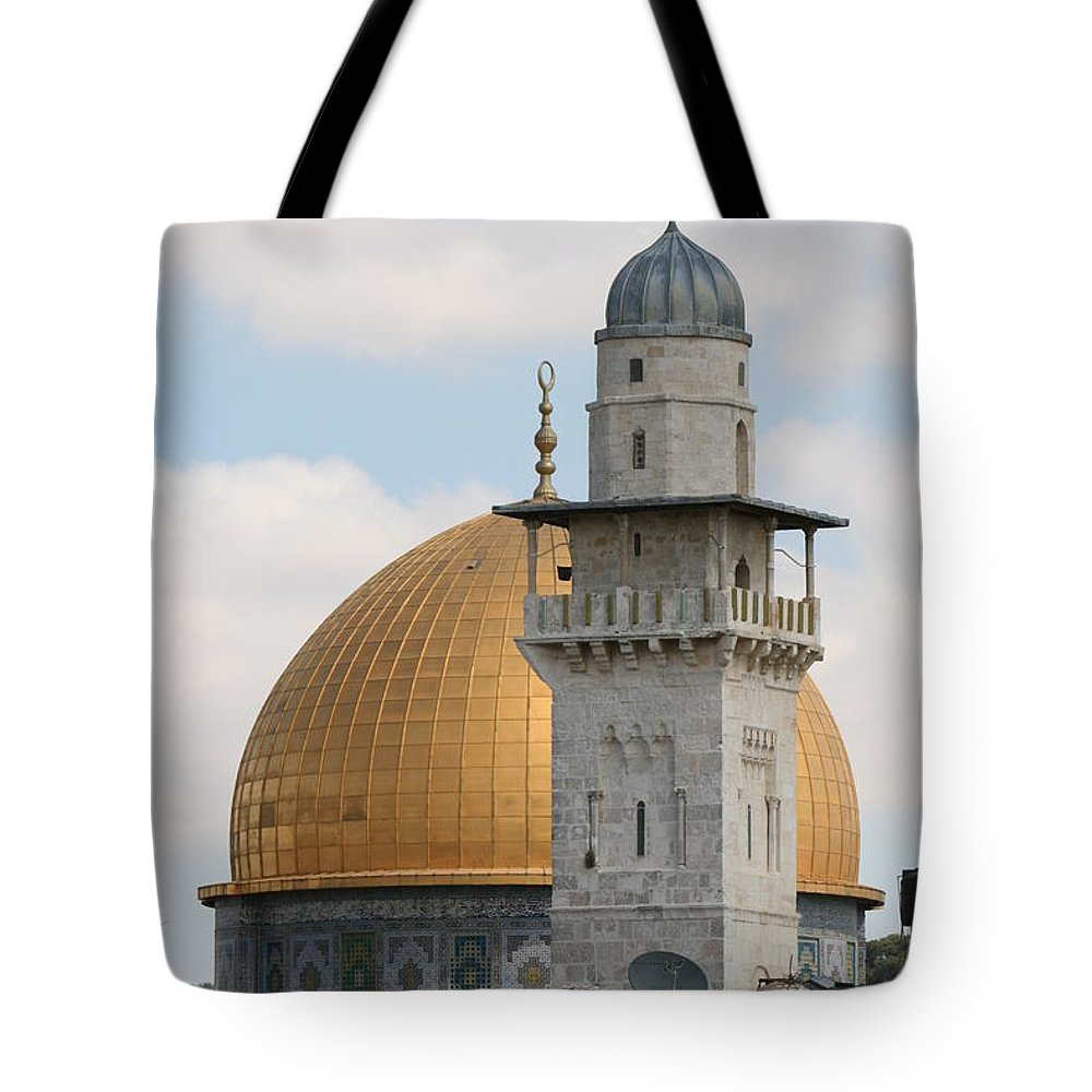 Arch Tote Bag featuring the photograph Jerusalem by Yelena Strokin