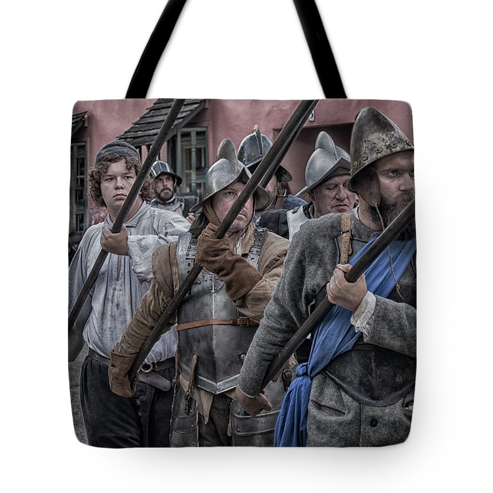 Tote Bag featuring the photograph Johnson Bros by Joseph Desiderio