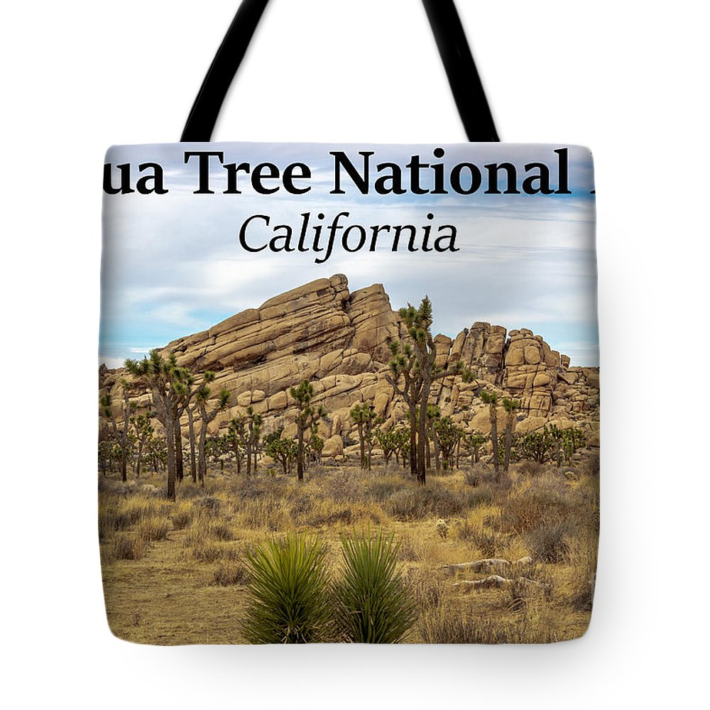 Joshua Tree National Park Tote Bag featuring the photograph Joshua Tree National Park, California 03 by G Matthew Laughton