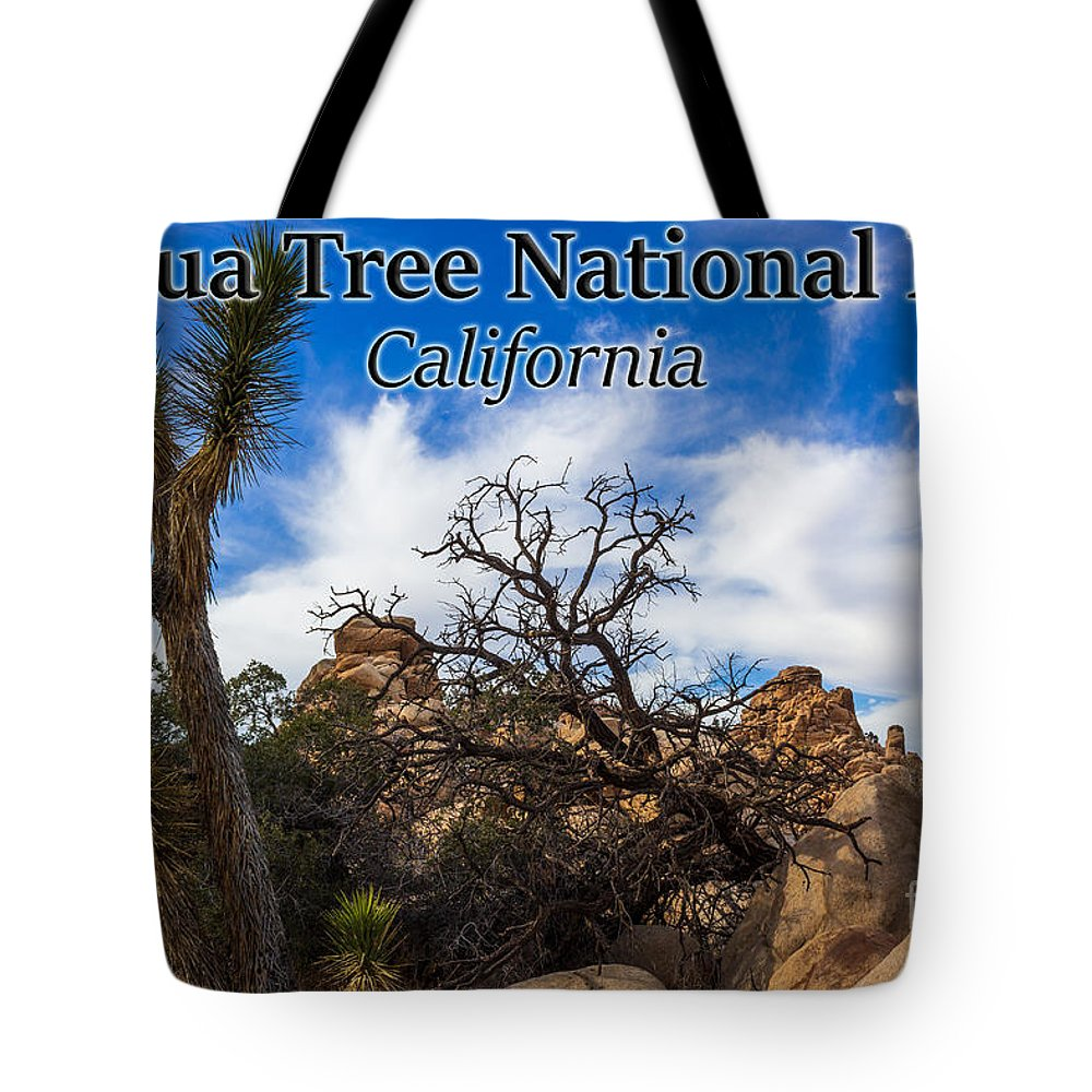 Joshua Tree National Park Tote Bag featuring the photograph Joshua Tree National Park, California Box Canyon 02 by G Matthew Laughton